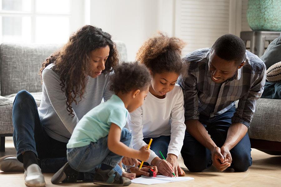 kideaz ecriture famille ensemble charte usage ecrans