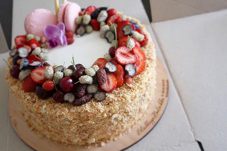 kideaz gateau anniversaire commande fruits rouges