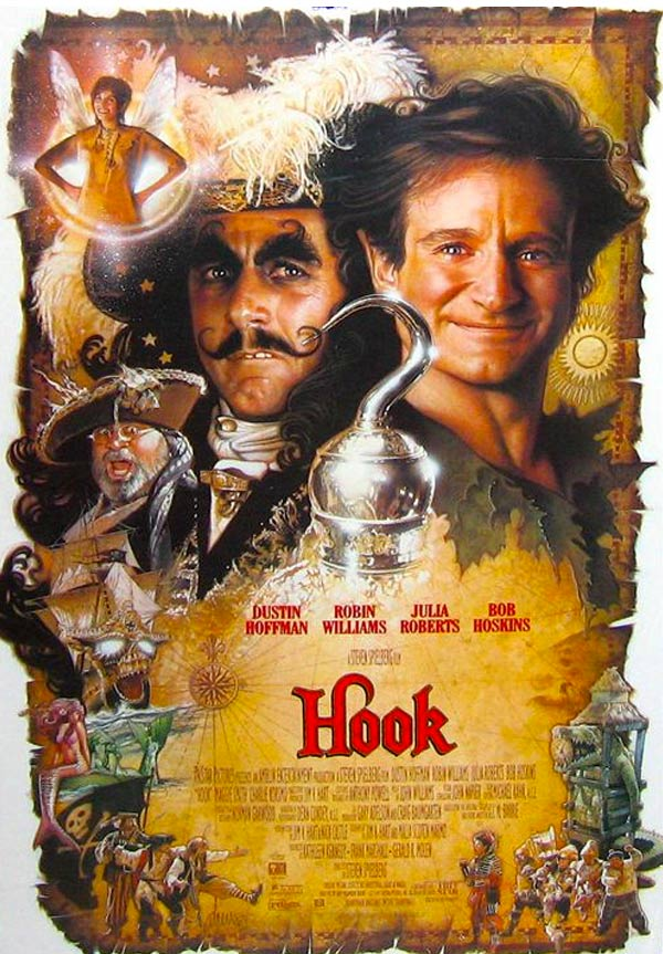 kideaz hook revanche du capitaine crochet affiche film culte