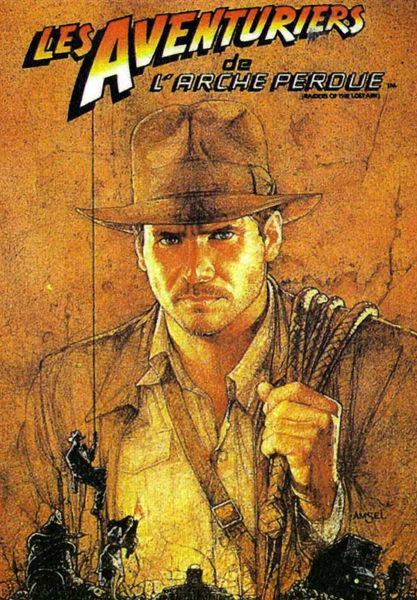 kideaz indiana jones affiche films cultes
