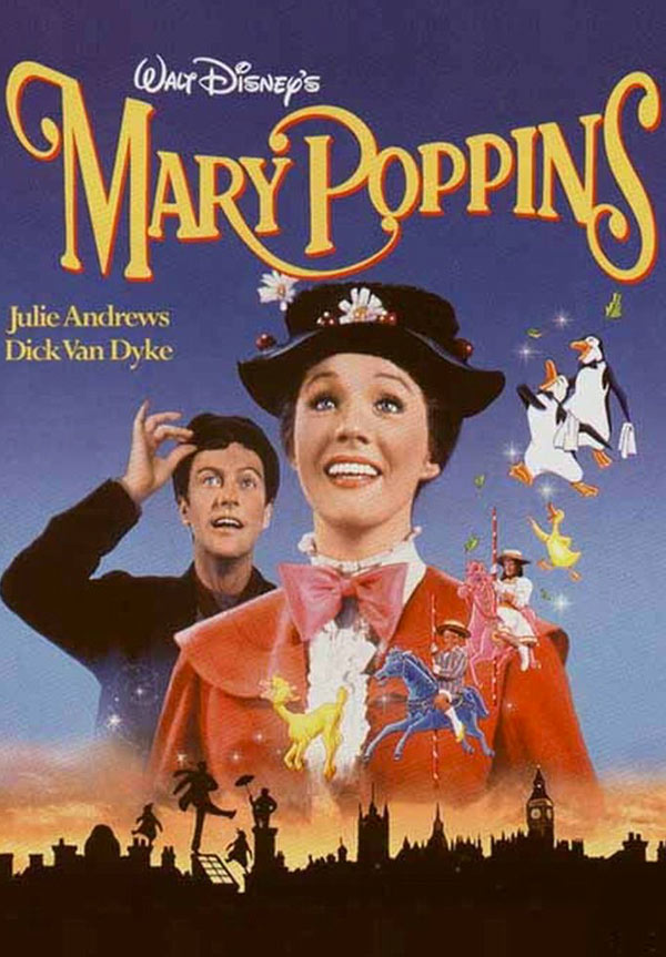 kideaz marry poppins affiche films cultes