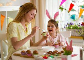 kideaz paques recette patisserie gateau maman fille