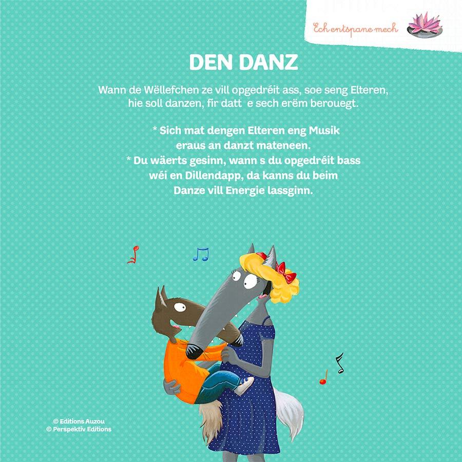 kideaz perspektiv editions de wollef loup activite danse famille