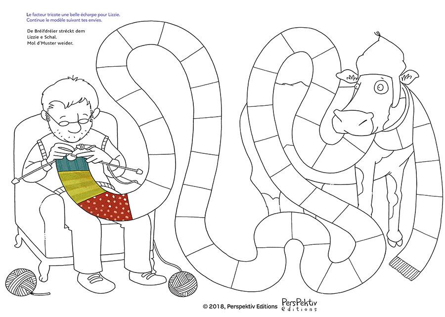 kideaz perspektiv editions lizzie litterature jeu tricot enfants