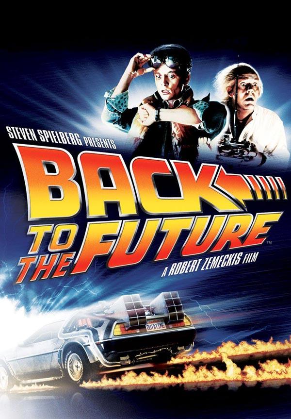 kideaz retour vers le futur affiche films cultes