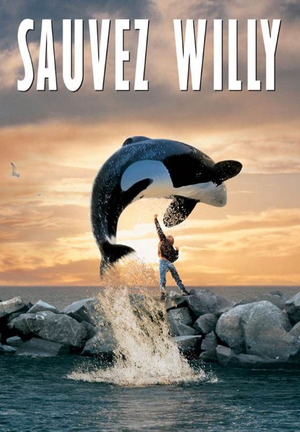 kideaz sauvez willy affiche films cultes