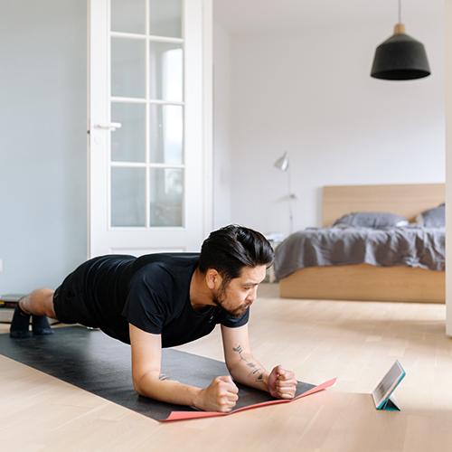 kideaz sport gym maison homme parent cours online