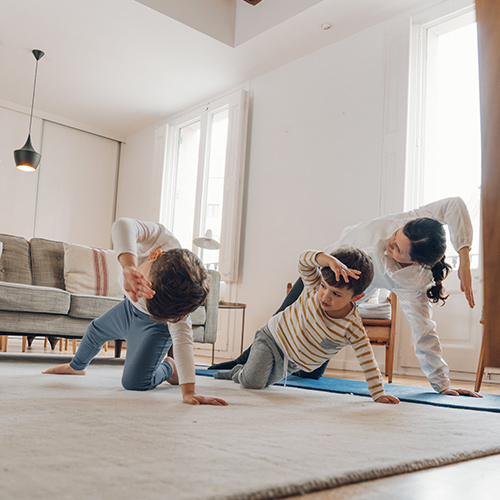 kideaz sport gym yoga etirements enfants parent enligne