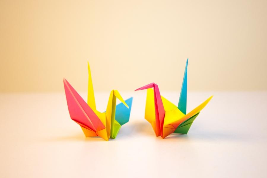 kideaz atelier arts plastiques origami enfants