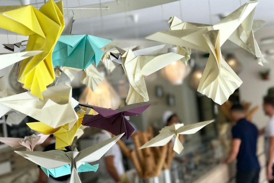 kideaz atelier creatif live origami