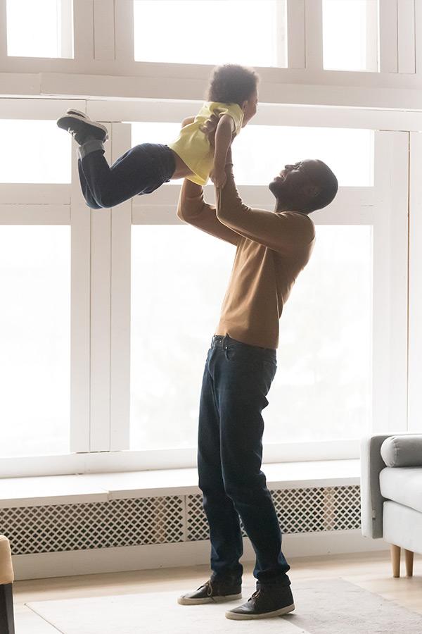 kideaz conge enfant parent maison