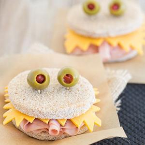 kideaz fun food sandwich monstrueux pinterest
