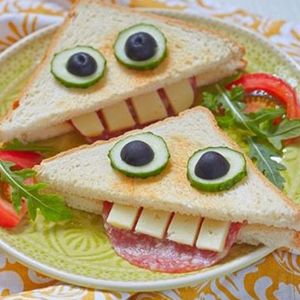 kideaz fun food toast funny pinterest