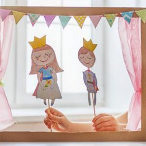 kideaz marie claire diy theatre marionettes