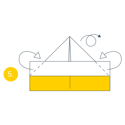 kideaz origami bateau magazine atelier creatif jeu bateau 5