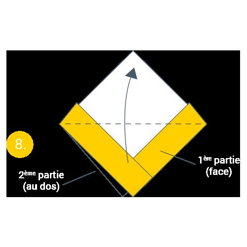 kideaz origami bateau magazine atelier creatif jeu bateau etape 8