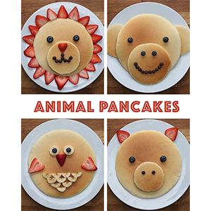 kideaz pancake animaux buzzfeed