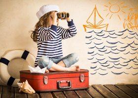 kideaz voyager evasion enfant imagination mer plage matelot