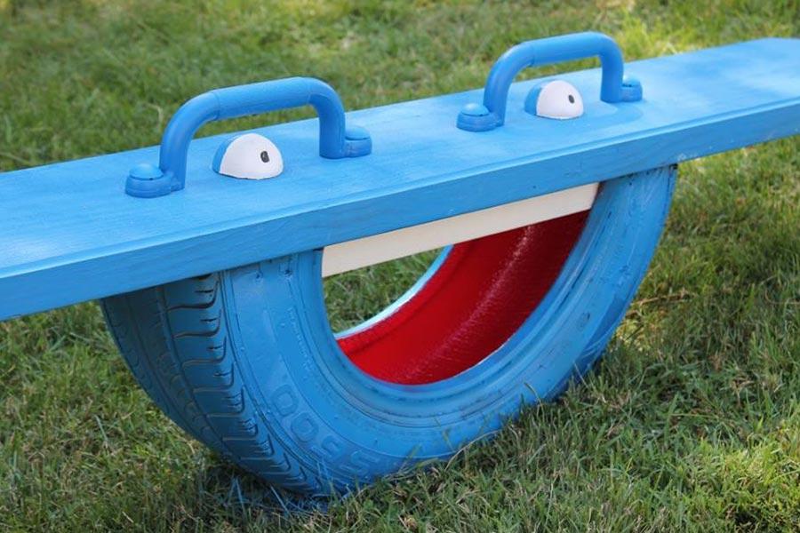 kideaz diy upcycling pneu balancoire copyright theverybesttop10