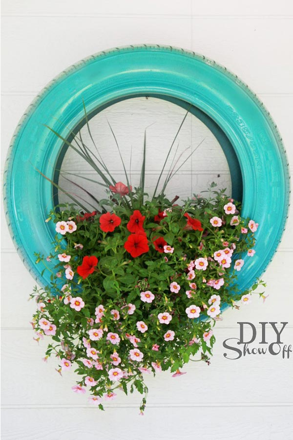 kideaz diy upcycling pot fleurs dit show off