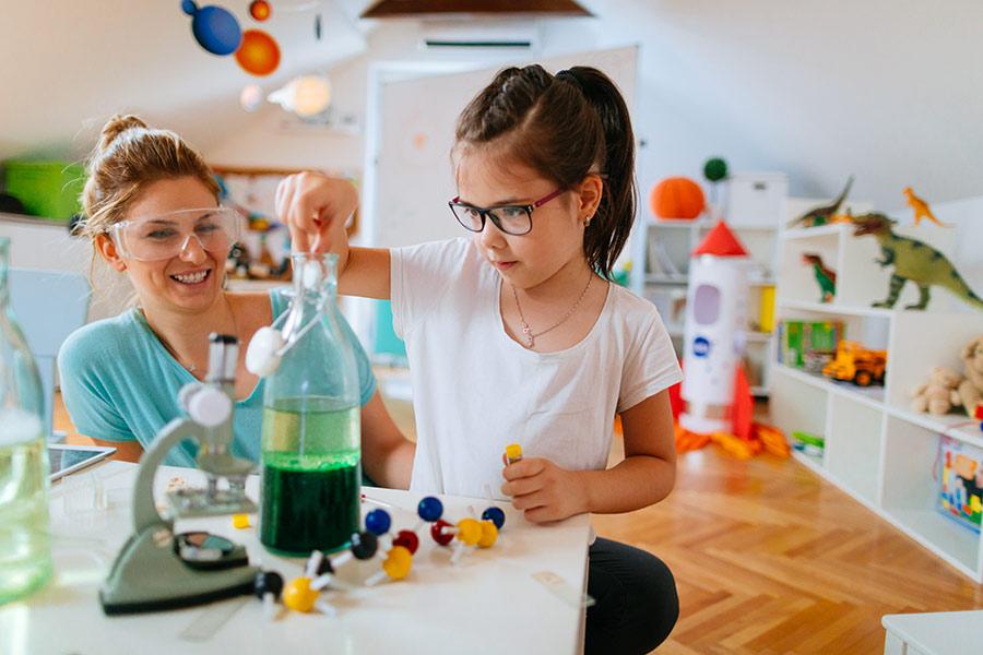 kideaz experiences scientifiques enfant parent maison diy sciences