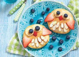 kideaz fun food pancakes enfants