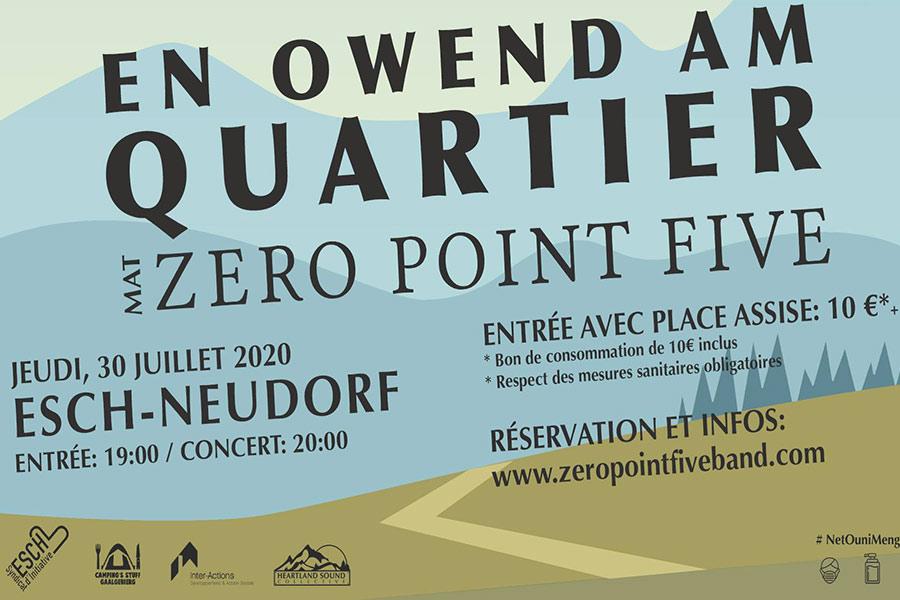 kideaz ZeroPointFive En Owend am Quartier Luxembourg