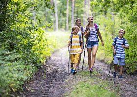 kideaz randonnee foret enfants parents promenade nature