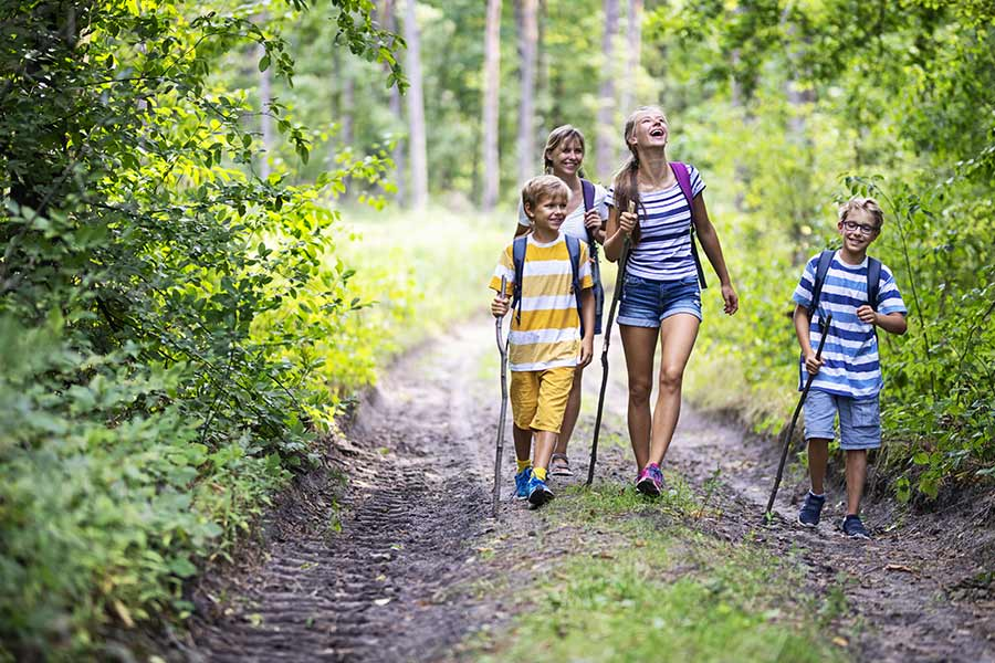 kideaz randonnee foret enfants parents promenade nature