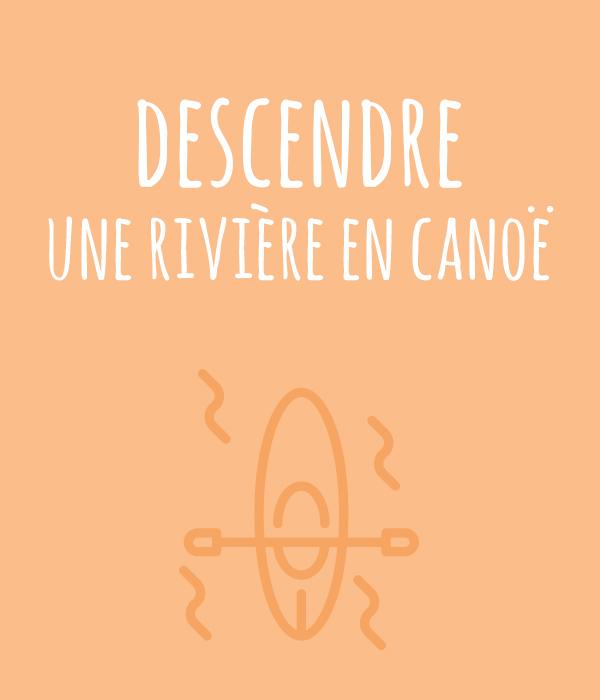 kideaz top aventures a vivre avant 12 ans riviere canoe