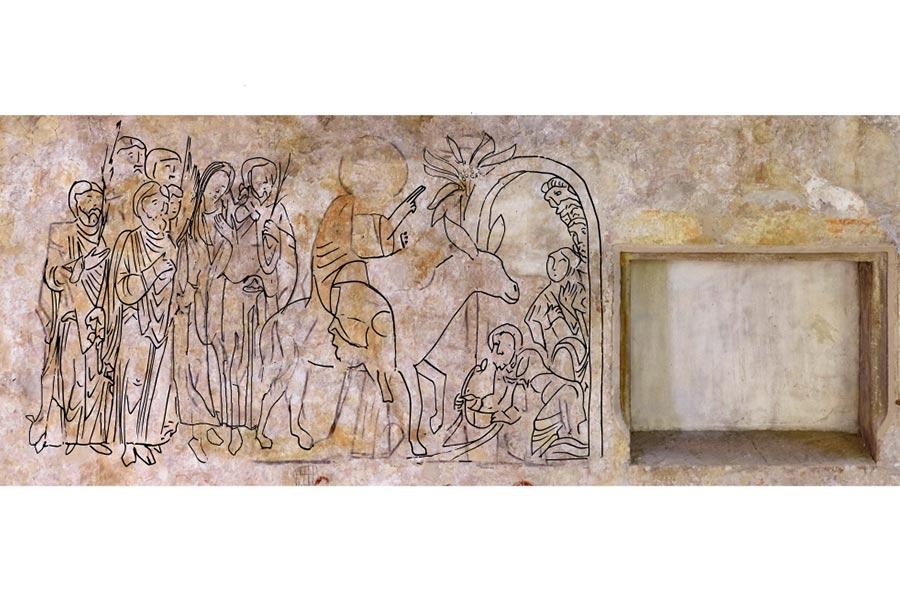 kideaz copyright fresque médiévale