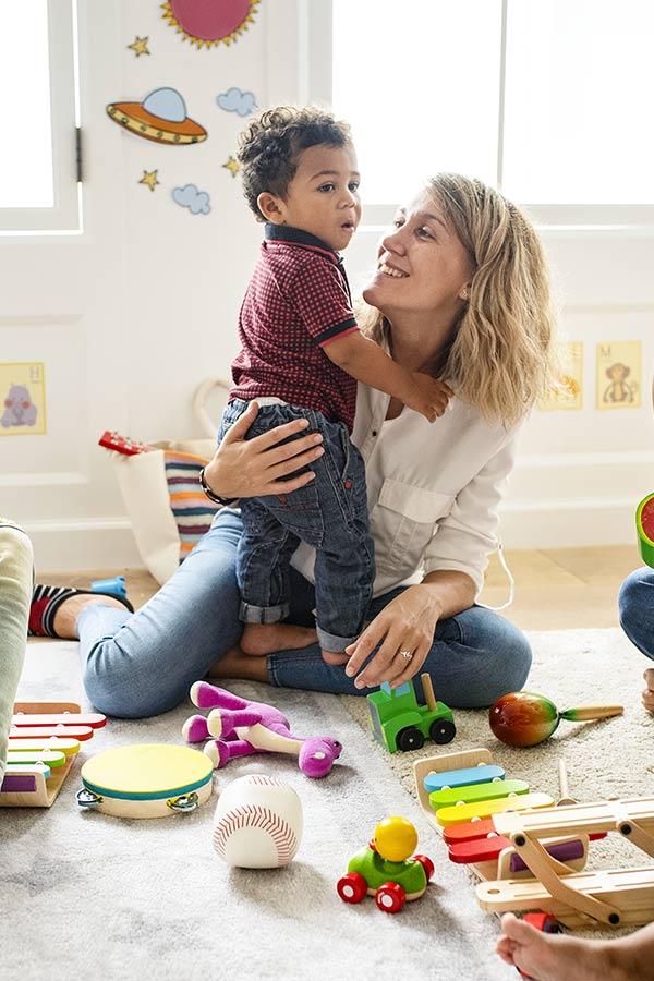 kideaz creche parent enfant transition
