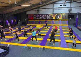 kideaz ozone trampoline ninja parc foetz cours fitness