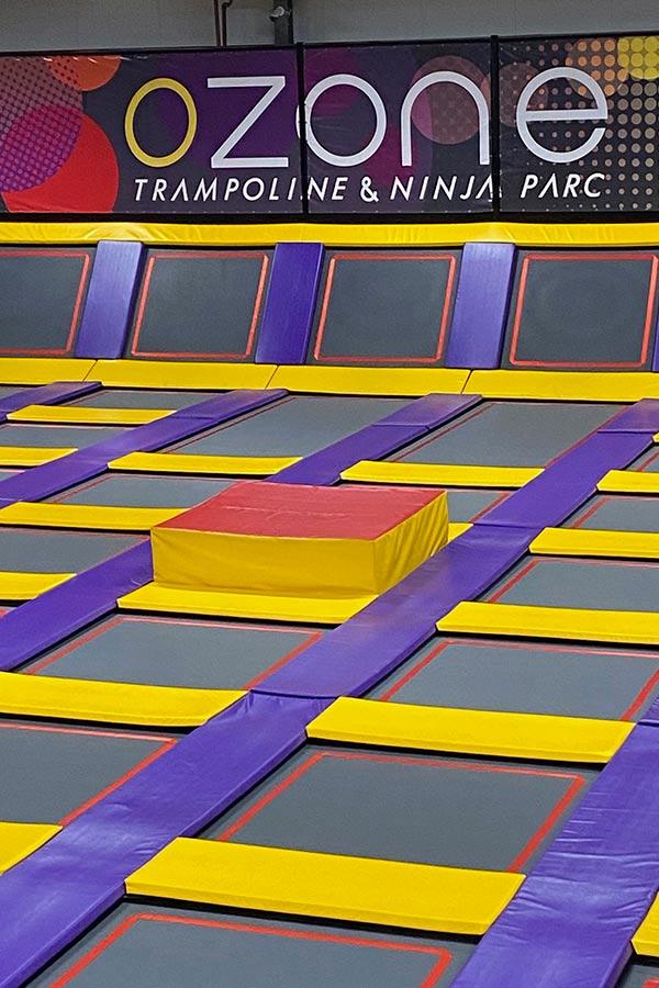 kideaz ozone trampoline ninja parc