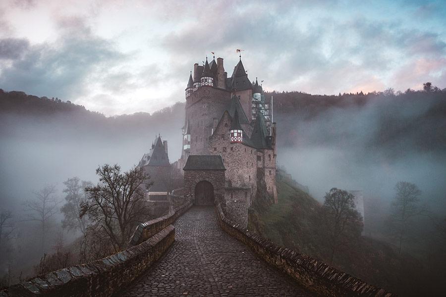 kideaz chateau hante hallowen tour