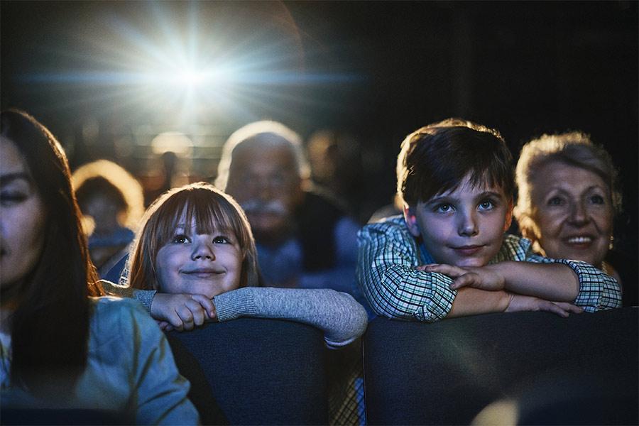 kideaz enfants cinema salle theatre projecteurs