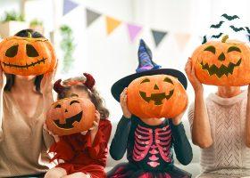 kideaz halloween fête famille citrouille