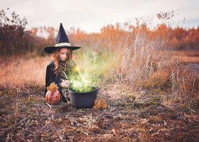 kideaz sorciere chapeau halloween