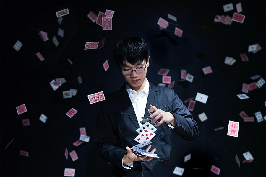 kideaz tour de magie cartes jeux
