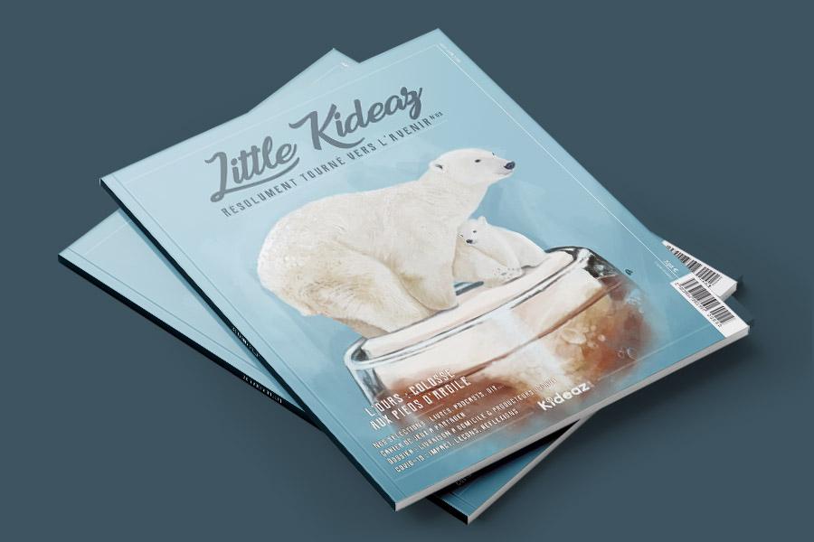 kideaz magazine famille couverture numero3 little kideaz