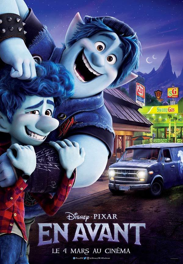 kideaz films en avant copyright disney pixar