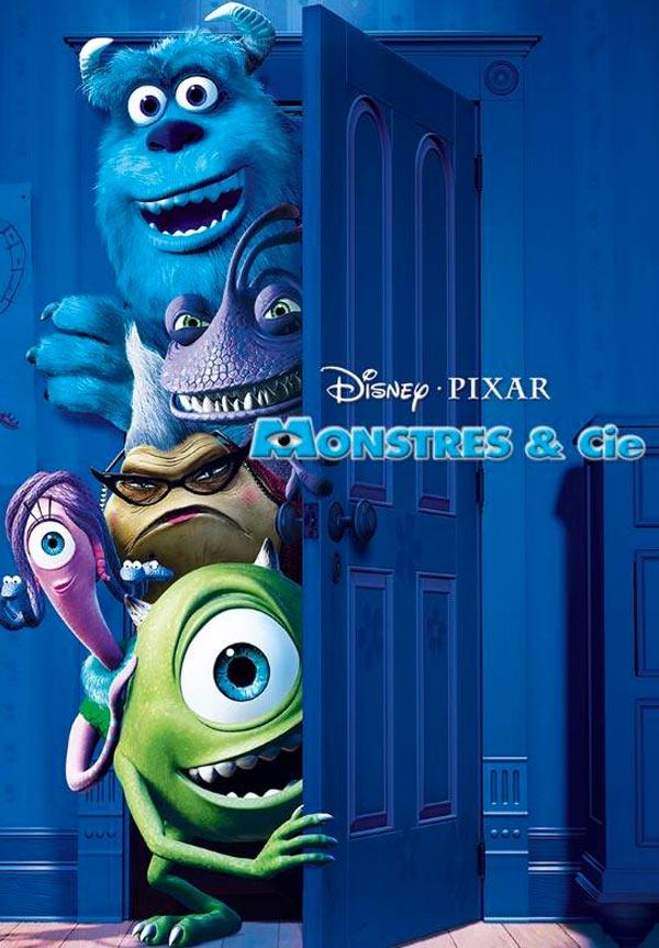 kideaz films monstres et cie copyright disney pixar