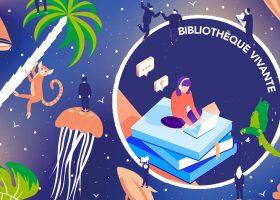 kideaz nuits de la lecture bibliotheque vivante