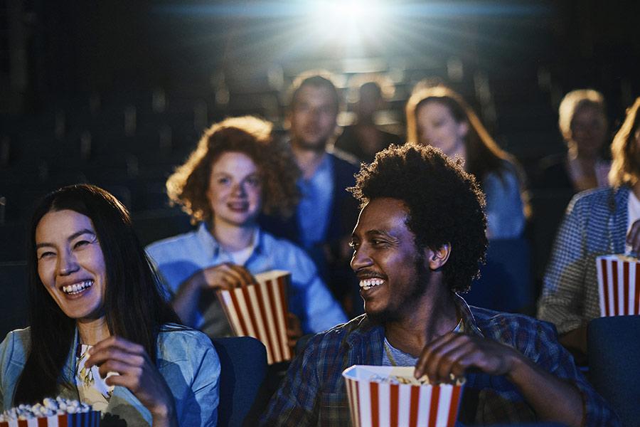 kideaz salle cinema film amis projection popcorn