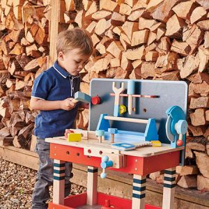 kideaz copyright pall center etabli en bois