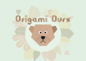 kideaz origami ours cover
