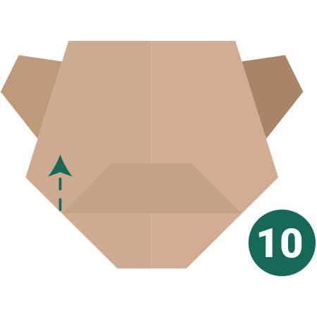 kideaz origami ours etape 10