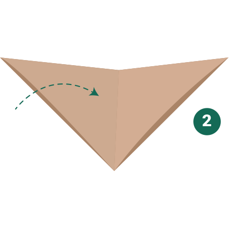 kideaz origami ours etape 2