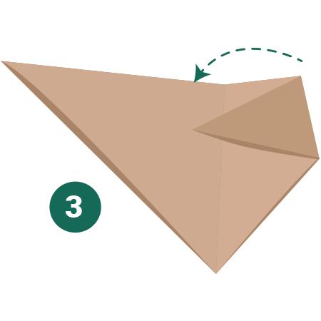 kideaz origami ours etape 3