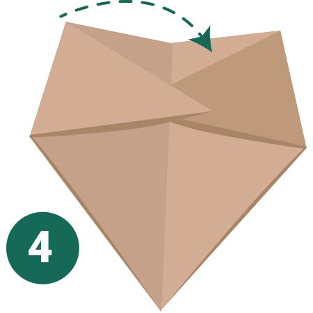 kideaz origami ours etape 4